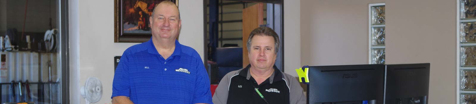 A & B Motors Shop Owners